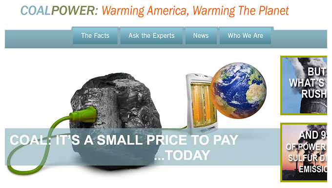 Screenshot taken from the actual NRDC site